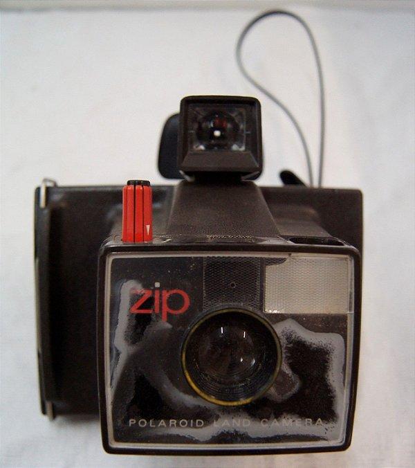Máquina Fotográfica Antiga Polaroid Land Zip Câmera