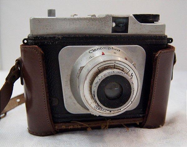 Máquina Fotográfica Antiga Certo Photo