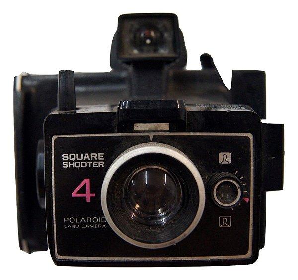 Máquina fotográfica Antiga Polaroid Square Shooter 4