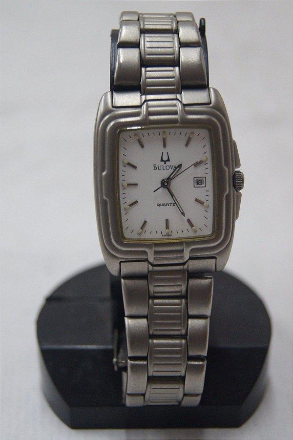 Relógio De Pulso Suíço Bulova Titanium