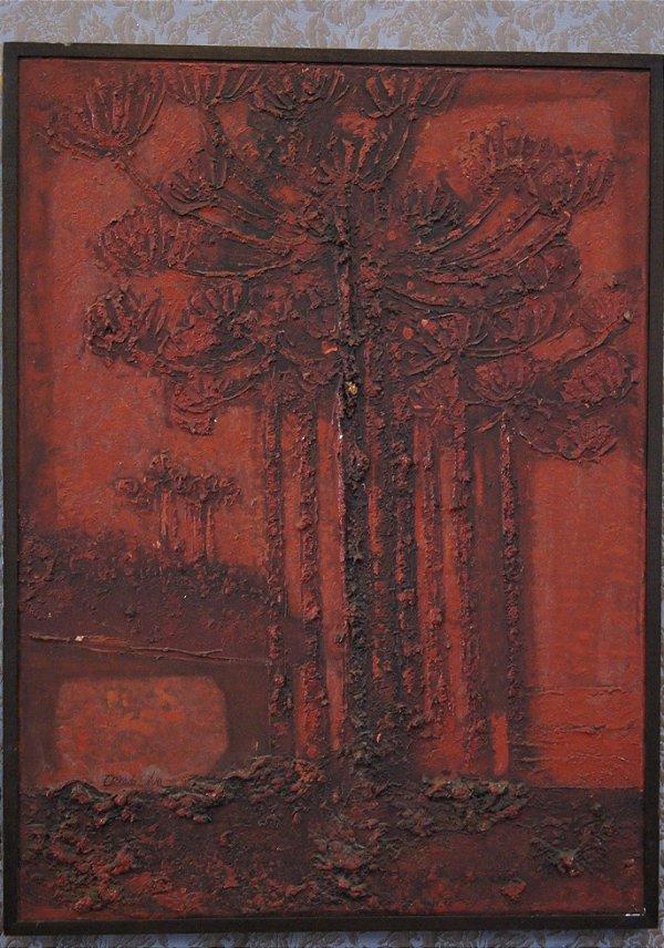 Tela Quadro Pintura Óleo Erico Da Silva  62 cm x 84 cm