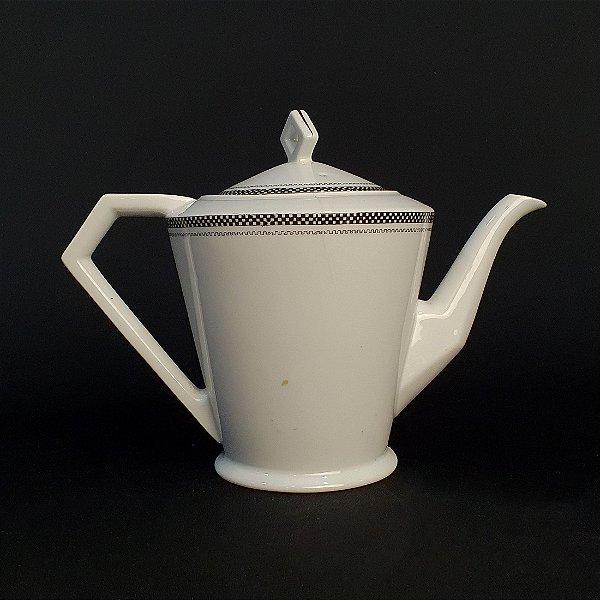 Antigo Bule Para Chá De Porcelana Noritake China