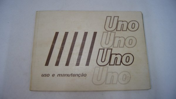 Manual Do Proprietário Uno 1985