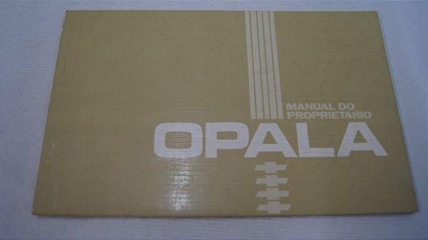 Manual Do Proprietário GM Opala Comodoro 1984
