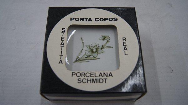 Porta Copos Xícaras Pires Porcelana Schmidt 6 Peças