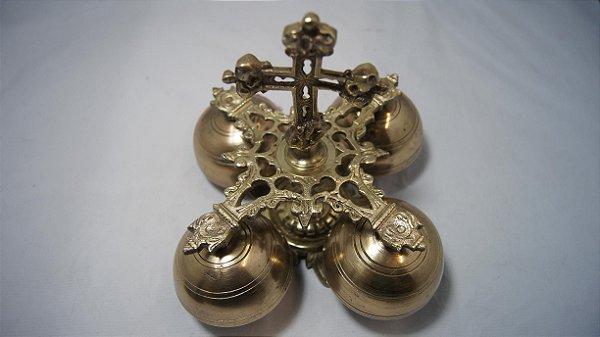 Carrilhão 4 Sinos Bronze Padres Igrejas Coroinhas Acólitos
