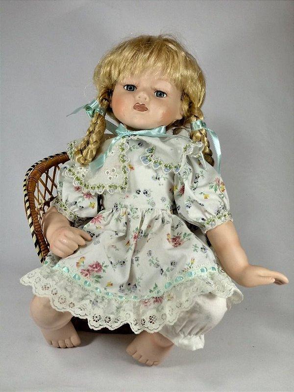 Boneca Alemã Em Porcelana