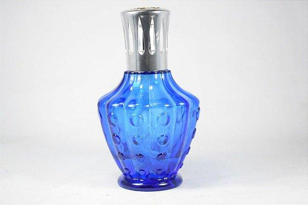 Perfumeira Em Cristal Azul