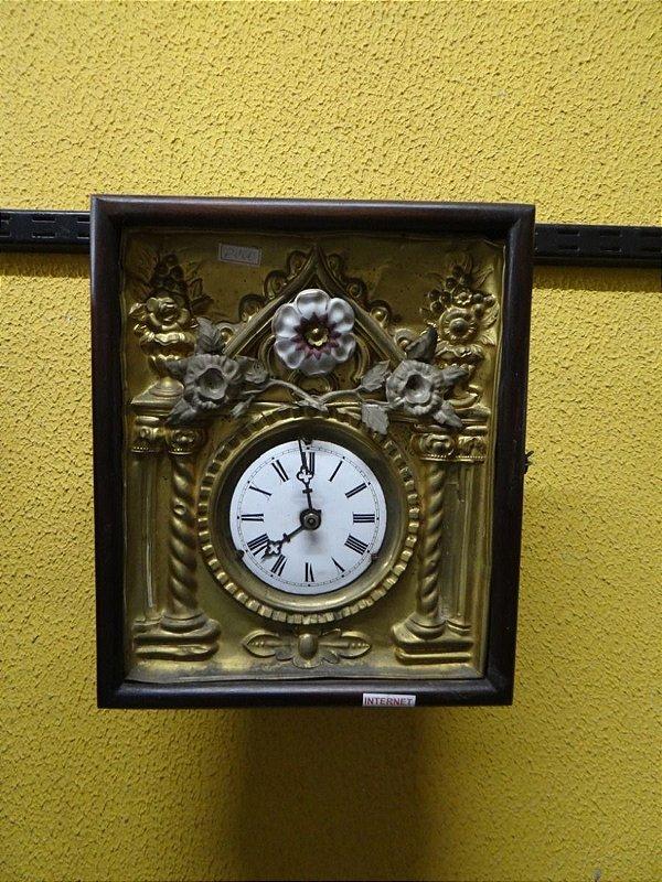 Antigo Relógio De Parede Floresta Negra Pinho De Riga