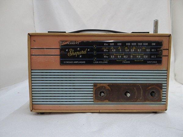 Antigo Rádio Shepard 3 Faixas