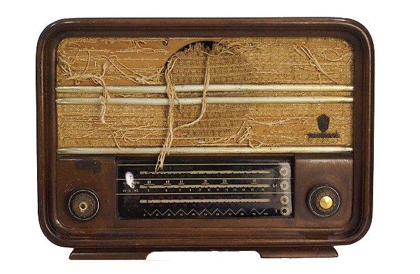 Antigo Rádio Teleunião Valvulado