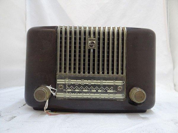 Antigo Rádio Philips Valvulado