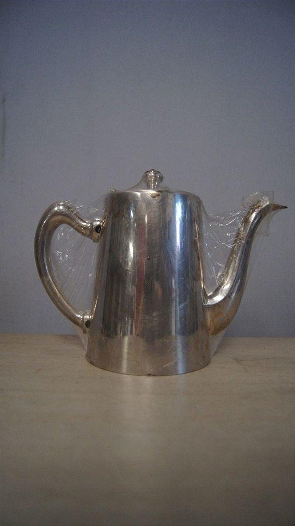 Antigo Bule Eberle Banhado A Prata 90 Café Chá