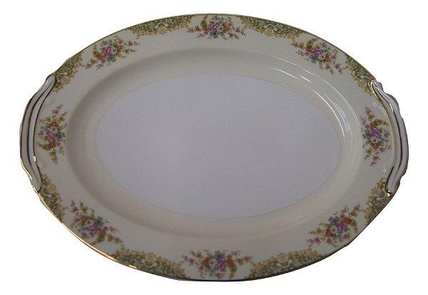 Travessa Saladeira De Porcelana Noritake