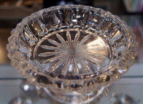 Cinzeiro De Cristal Francês