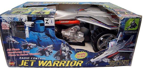 Brinquedo Jet Warrior Com Controle Remoto