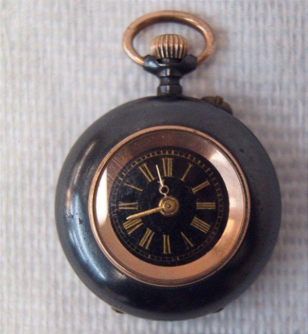 Antigo Relógio de Bolso Acier Garanti Francês