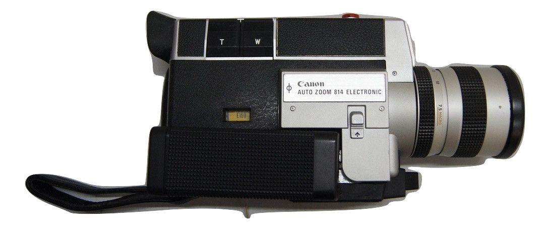 Filmadora Antiga Canon Auto Zoom 814