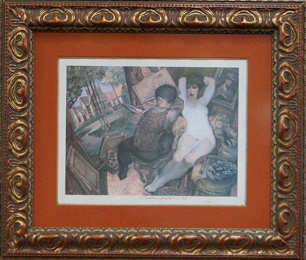 Quadro Tela Pintura Ateliê Por Juarez Machado