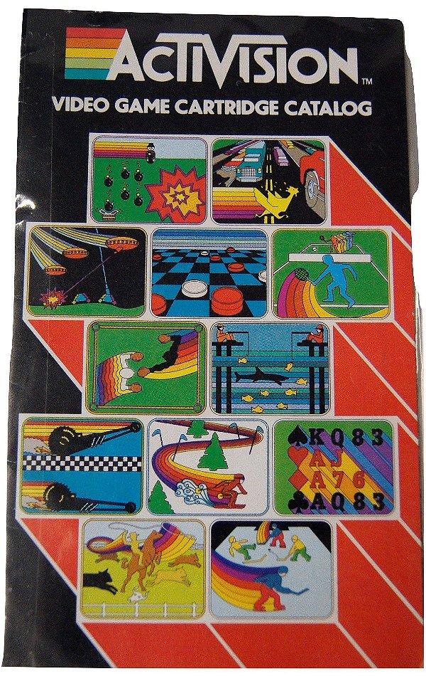 Activision Video Game Cartridge Catalog
