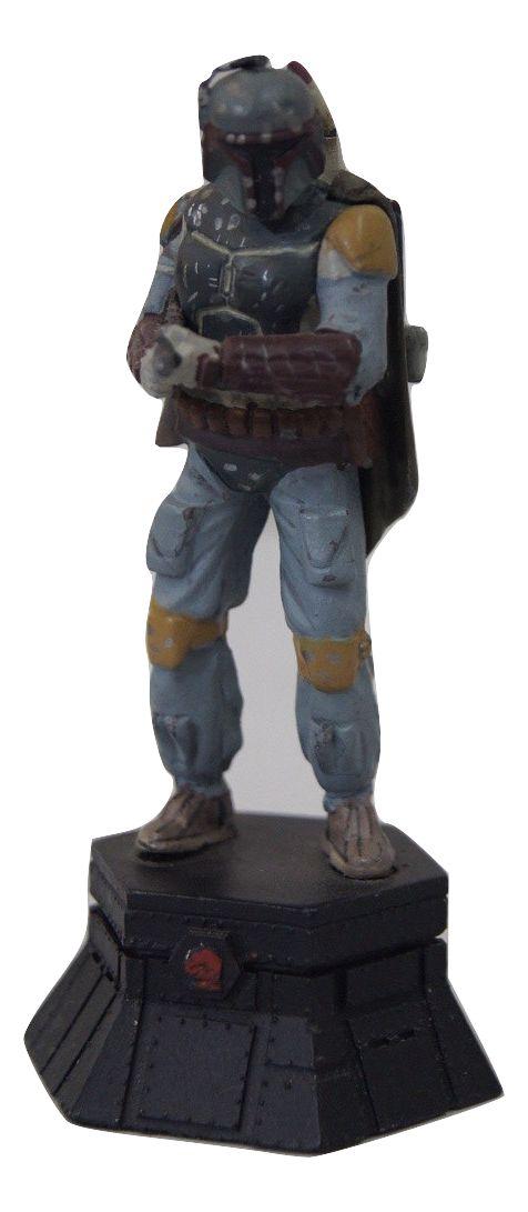 Miniatura Star Wars Xadrez - Boba Fett