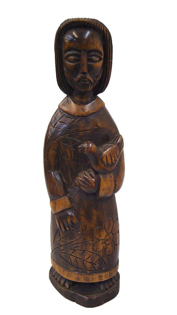 Santo São Francisco de Assis em Madeira