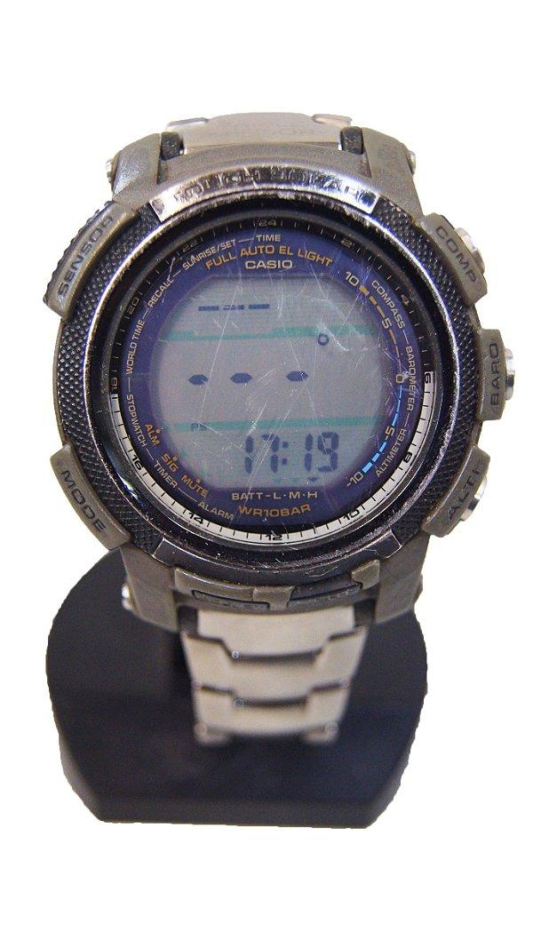 Relógio Casio Triple Sensor Pro Trek Prg