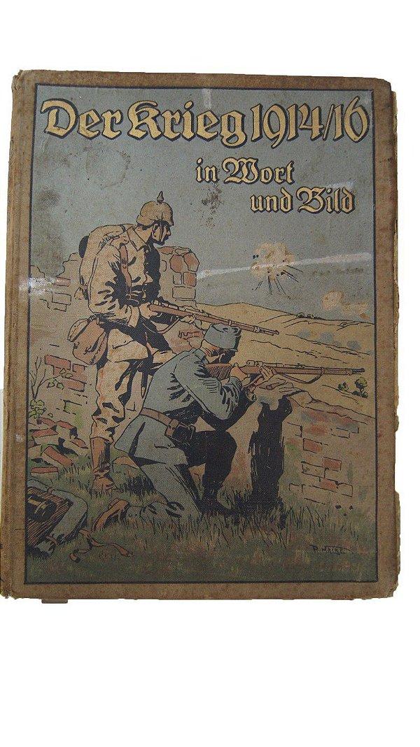 A 1º Guerra Mundial Em Palavras E Imagens - Livro Alemão