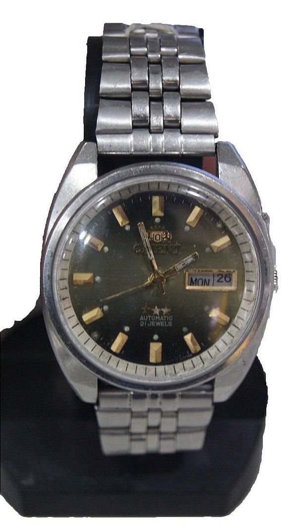 Relógio De Pulso Automático Orient Verde Déc 80