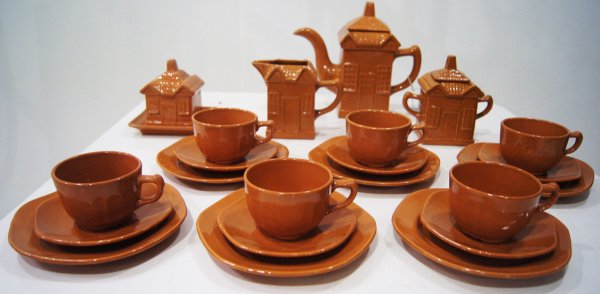Conjunto de Chá De Porcelana Casebres