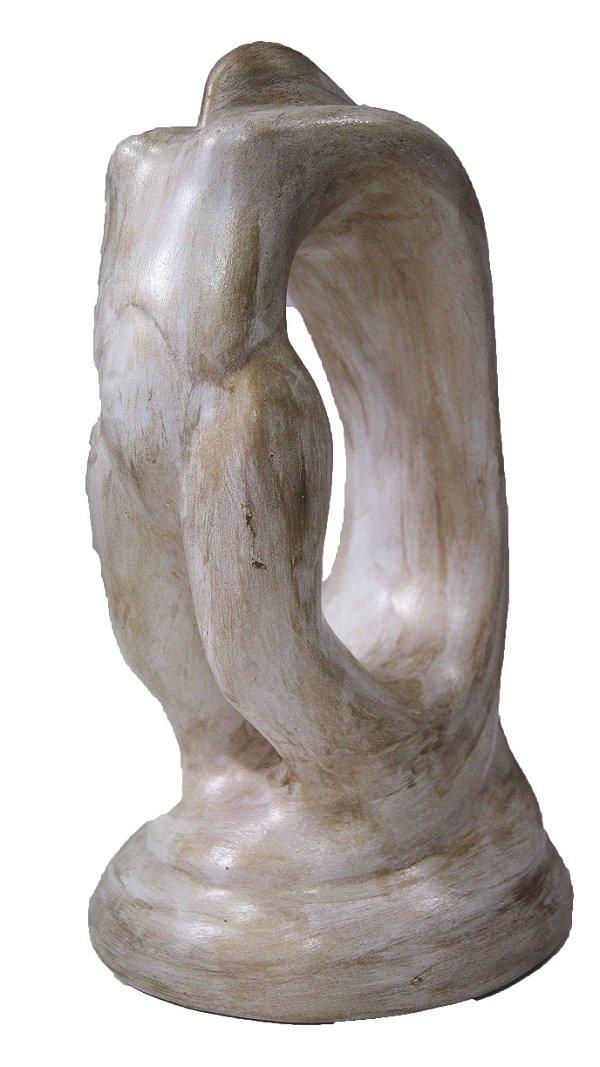 Escultura Estatua De Cerâmica Corpo De Mulher