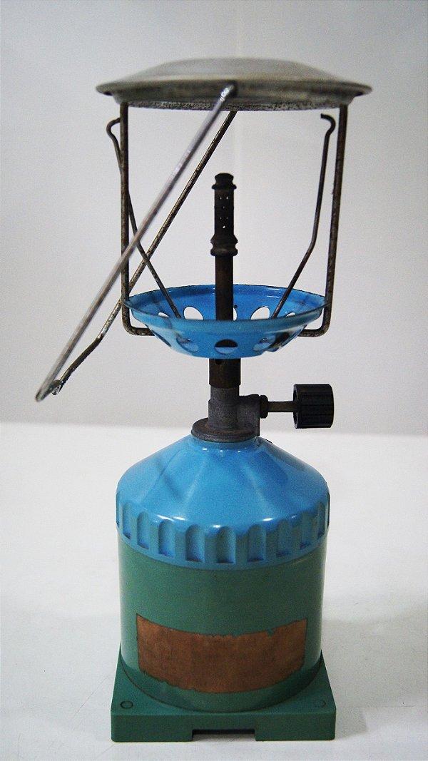 Antiga Lamparina Lampião Azul Decorativo