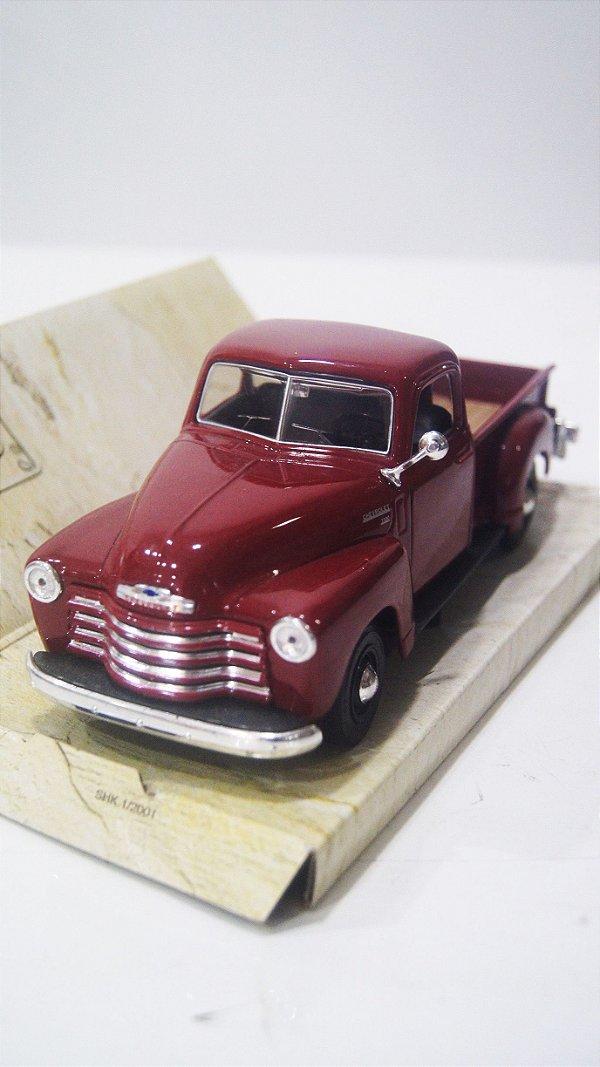 Carro Miniatura Chevrolet 3100 1950 Maisto
