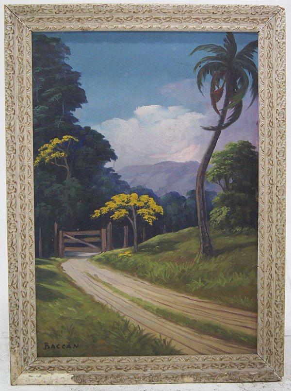 Quadro Pintura a Óleo João Baccan
