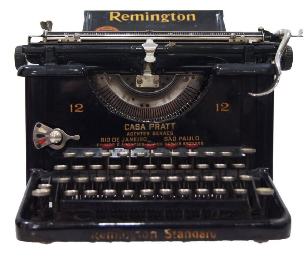 Maquina De Escrever Datilografia Remington 12