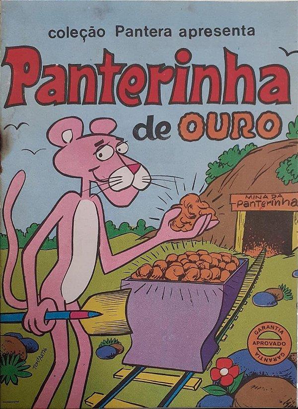 Álbum De Figurinha Panterinha de Ouro
