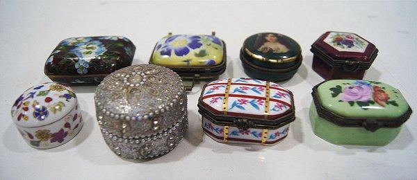 Antigo Porta joias Objetos Pequeno (Unidade)