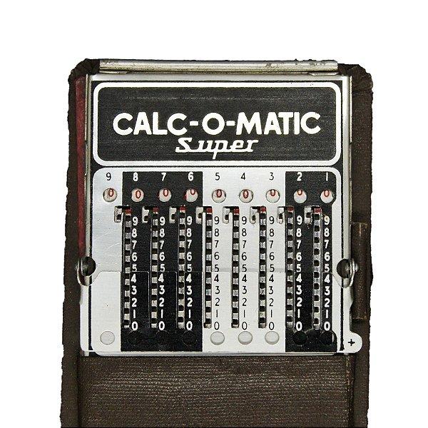 Calculadora Calc-o-matic Super Dec 40/50