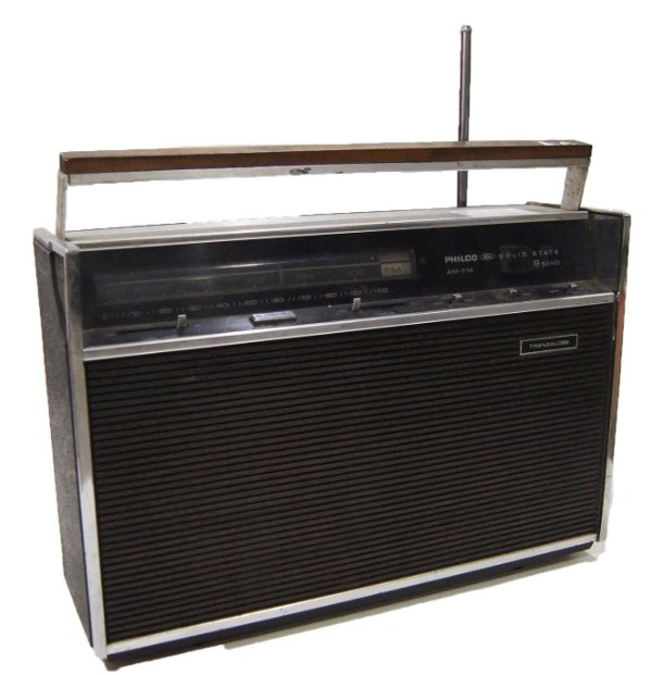 Rádio Philco Ford Solid State