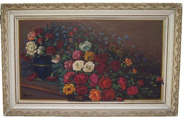 Quadro Rosas - João Baccan