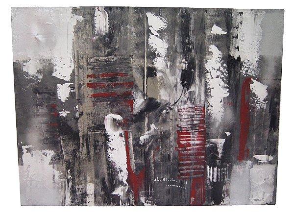 Quadro Para Sala De Estar Abstrato - Krambeck