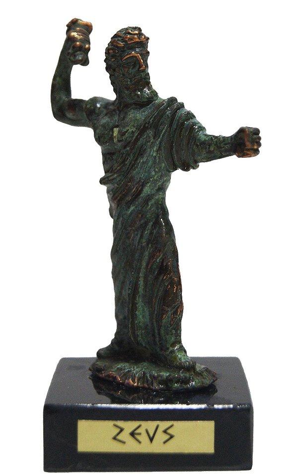 Estatueta Bronze Deuses Gregos por Marinakis Bros Zeus