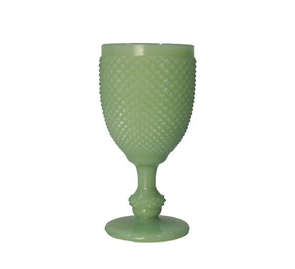 Taça Opalina Verde