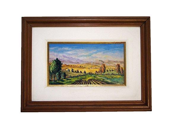 Quadro Pintura a Óleo M. Gella