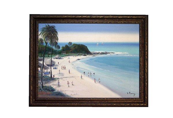 Quadro Pintura a Tela Bahia - Sylvio Pinto