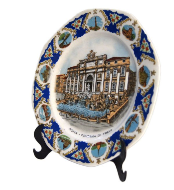 Prato Decorativo Porcelana Felfmann Welden Bavaria Germany