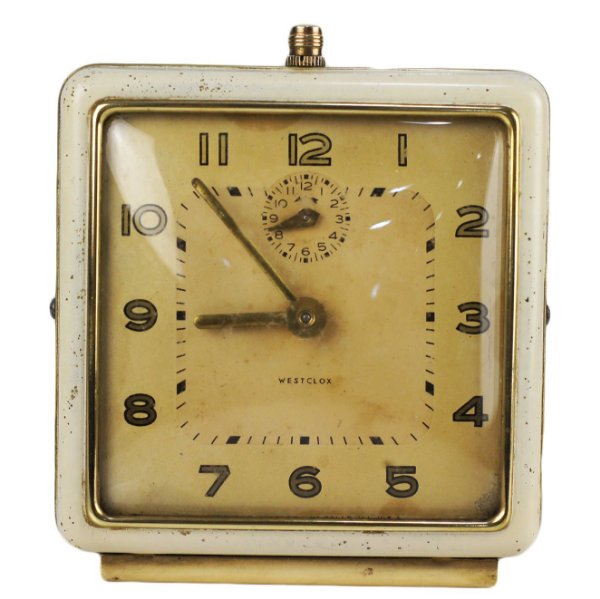 Relógio de Mesa Westclox década de 60