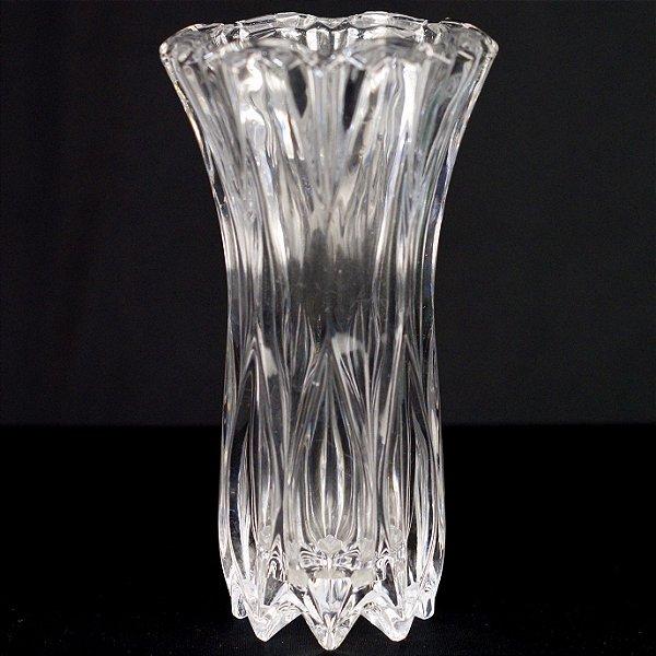 Vaso Solitário em Cristal 20cm