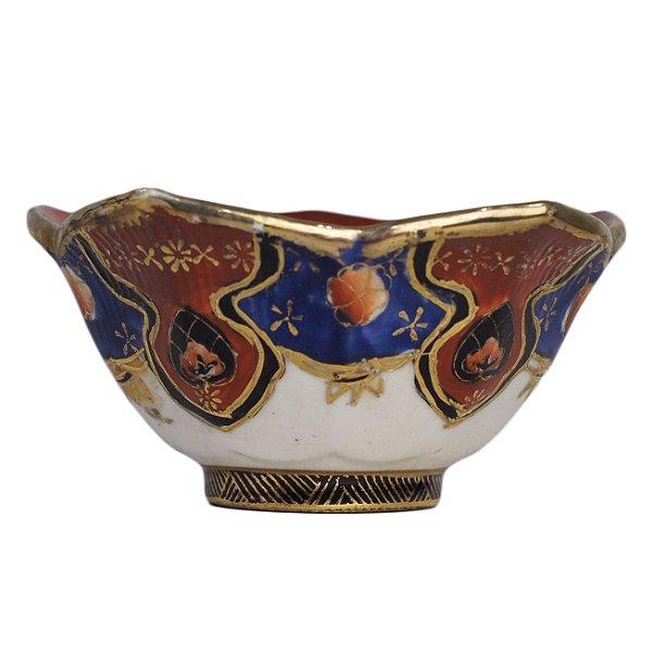 Tigela Em Porcelana Satsuma Pintada À Mão