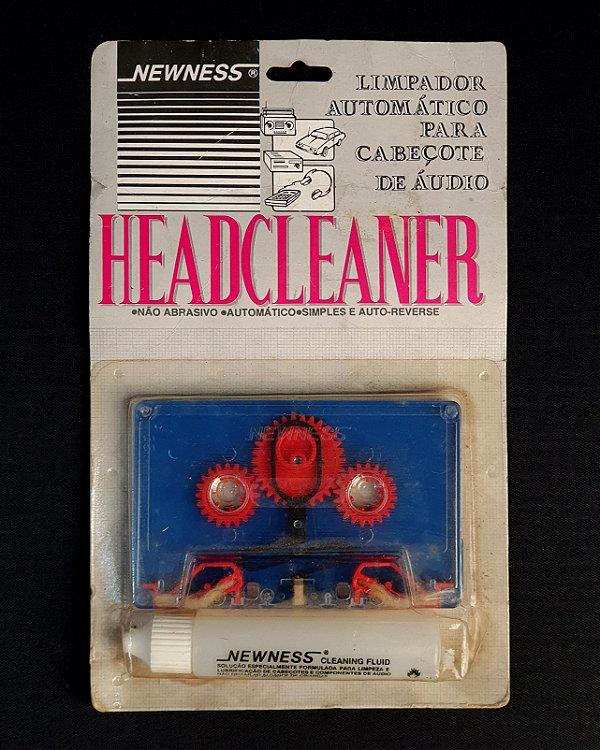 Limpador Cabeçote Newness Fita Cassette